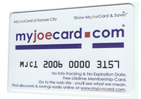 Get a card in Kansas City for free at a local CardCenter.
