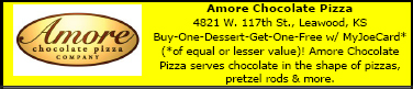 Directory Ad for Amore Chocolate Pizza