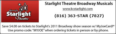 Directory Ad for Starlight Theatre