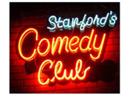 Stanford & Sons Comedy Club at 119th & Metcalf (Rosana Square next to Fuel and Kanza Hall)